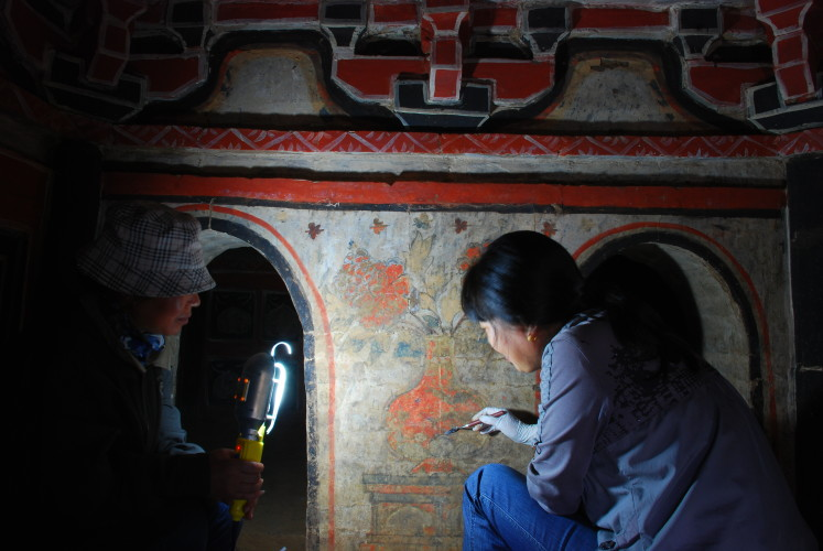 Cultural Materials Conservation: China and Australia Programs