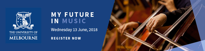My Melbourne Future Course Information Evening: Music