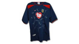 2003/04 Replica Pompey Away Jersey signed by members of the first team