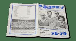 Vintage: Portsmouth vs Chelsea 1978 programme signed by Alan Knight