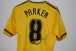 Chance to win - Scott Parker's match worn shirt from 3-1 victory at QPR