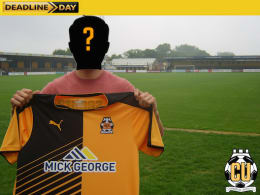 Be the Cambridge United FC Transfer Deadline Day Signing!!!