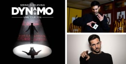 Chance to Win : VIP Evening for 2 with #bcafc players at Dynamo's LIVE show - and meet Dynamo himself!
