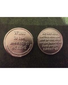 TfT! Gospel Coin 1John 5:12