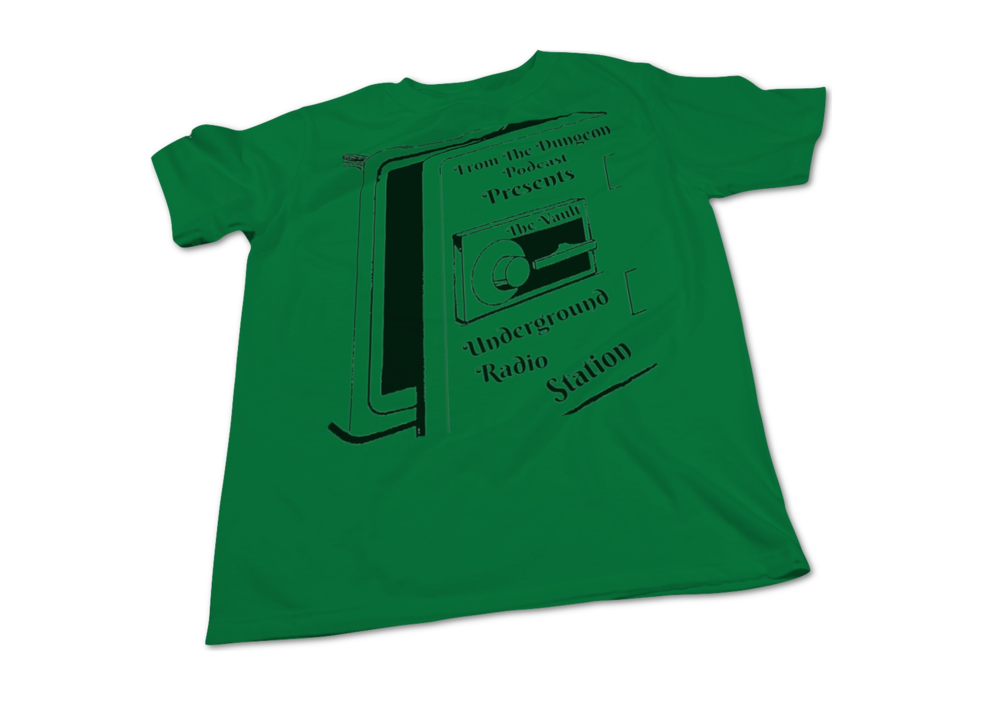 From the dungeon podcast the vault t shirt 1525891288