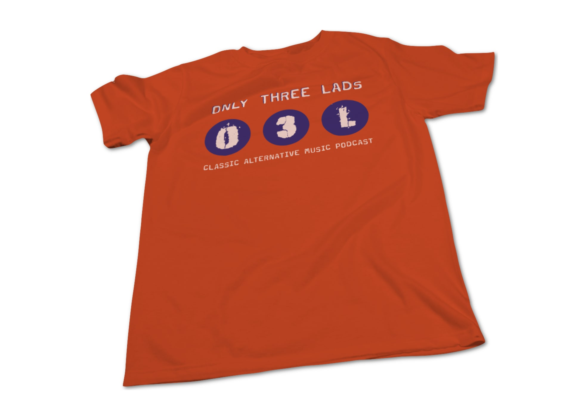 Only three lads o3l logo design  orange  1620172738