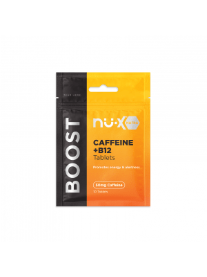Nu-X Caffeine/B12 Chewable Tablets Boost