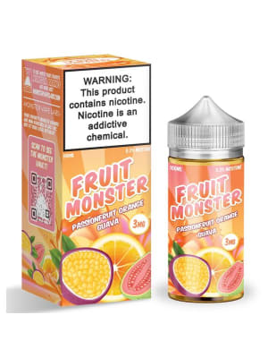 Fruit Monster Passionfruit Orange Guava