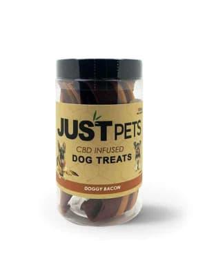 Just CBD Doggy Bacon Dog Treats