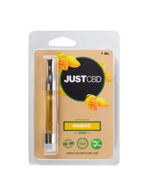 Just CBD Mango Vape Cartridges  (200mg)