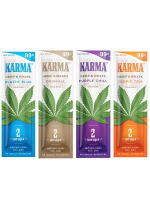 KARMA Hemp Wraps - 2 Pack