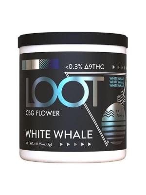 Loot Hemp Flower CBG White Whale Jar