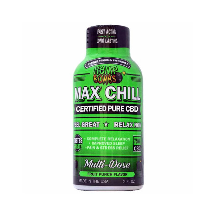 Hemp Bombs CBD Max Chill