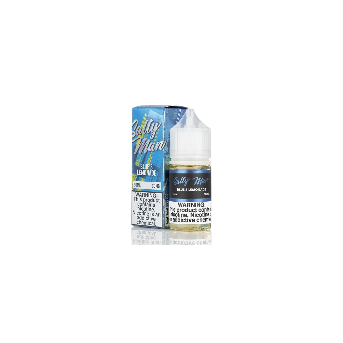 Salty Man NTN Blue Razz Lemonade