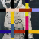 Tony Labat, Frankenstein Series (Elvis Impersonator), 2007, digital print on canvas, 35 x 24 in.