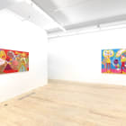 Peter Williams, 2013, installation view, Foxy Production, New York