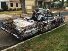 Rebel Warrior Car Van Nuys California