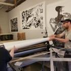 Printing on the Big Tuna!