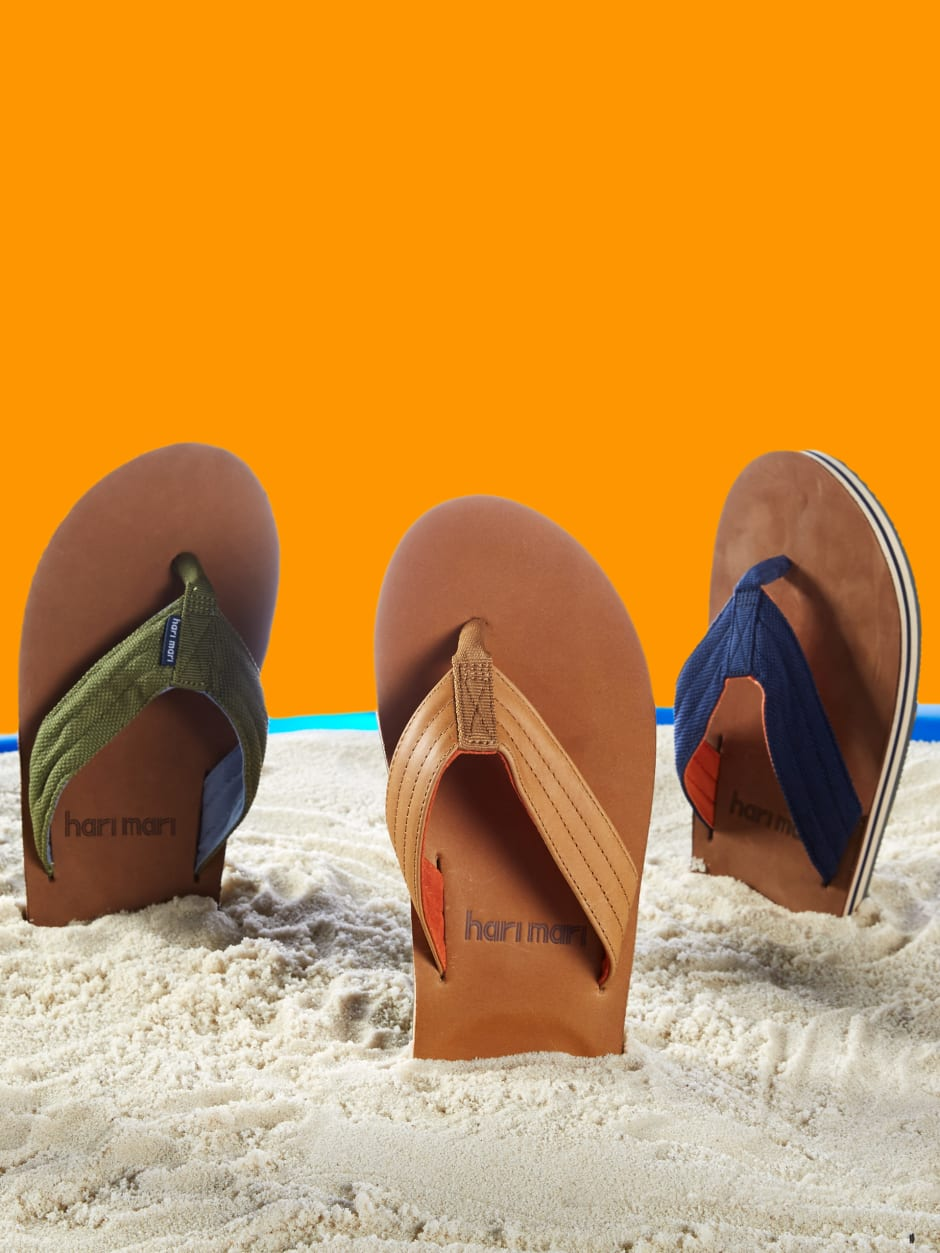 Hari Mari Sandals in Sand