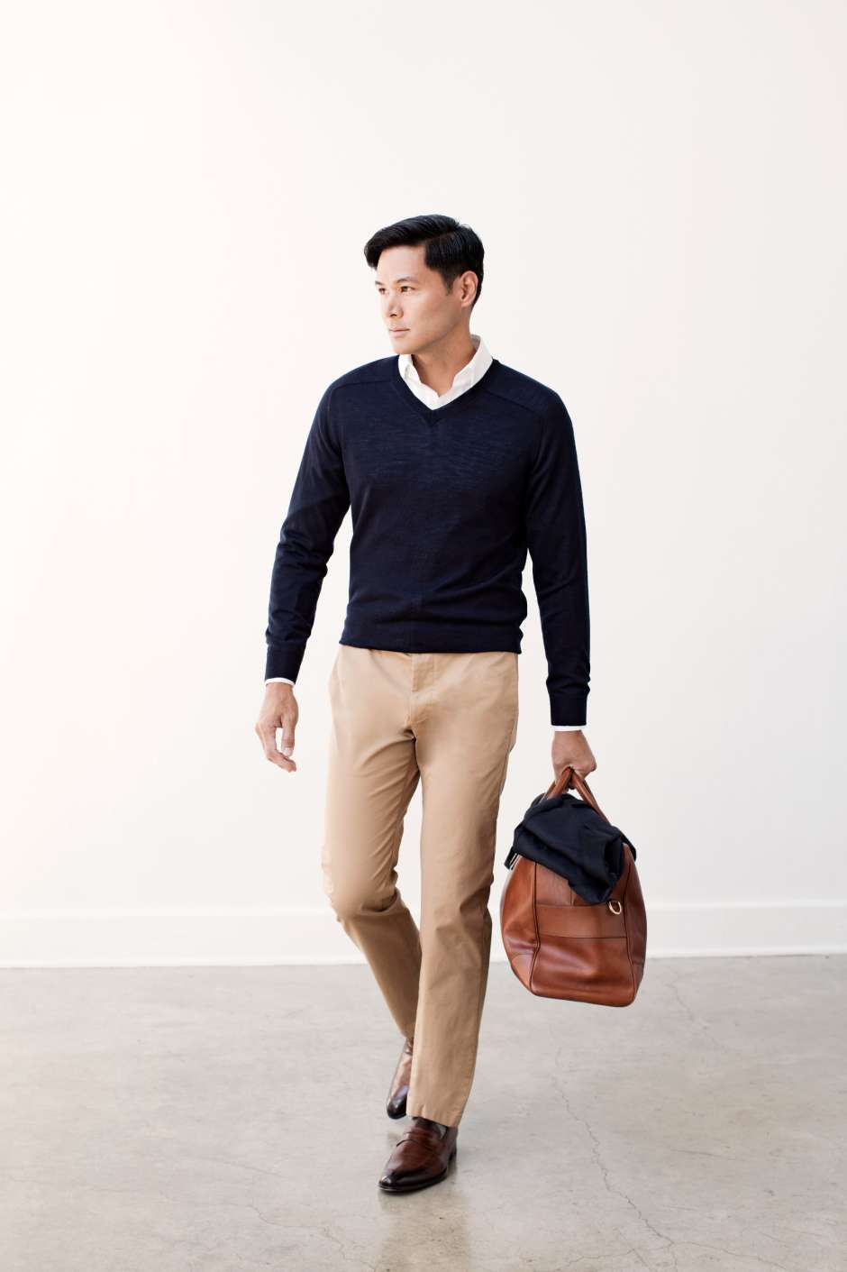 Business Travel Sweater