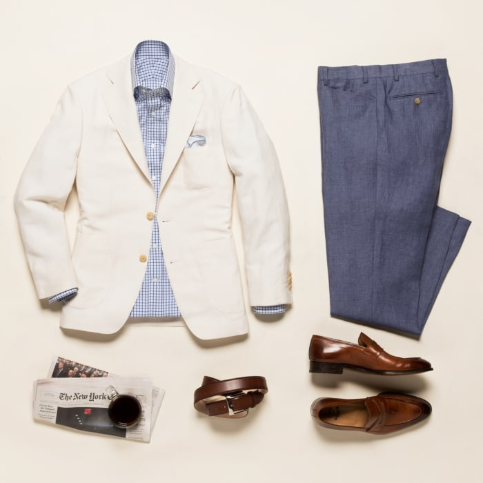 How to Pack a Suit Square