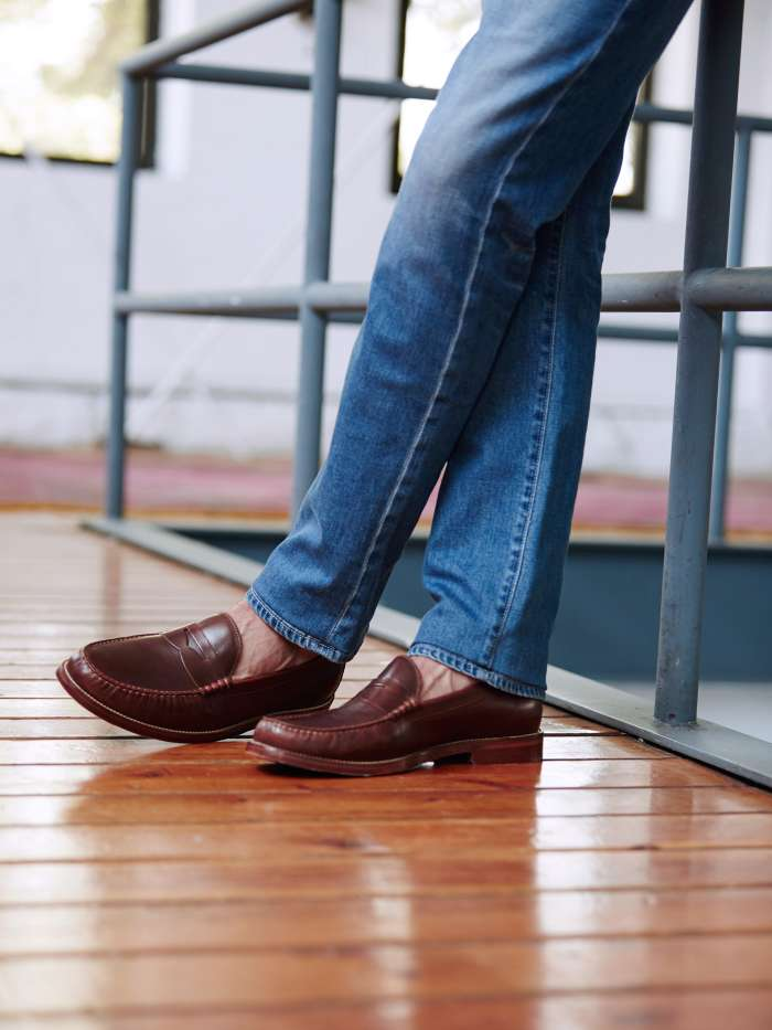 How to wear casual loafers