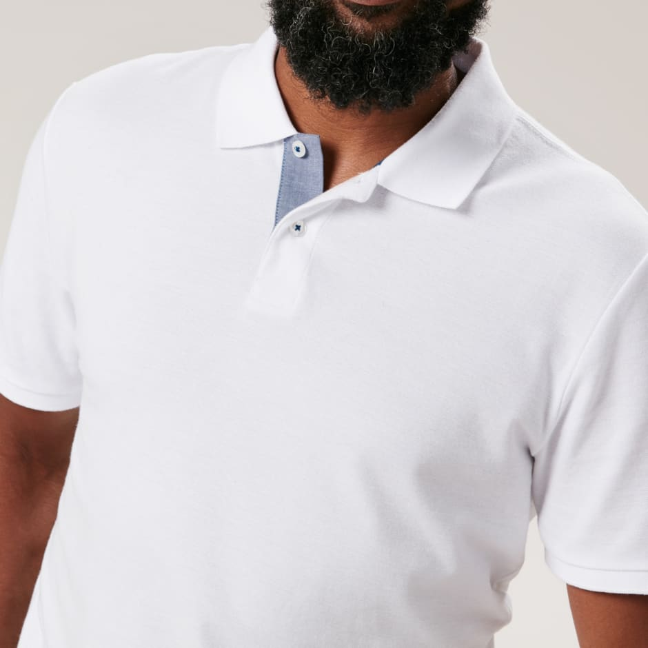 Original Penguin White Polo