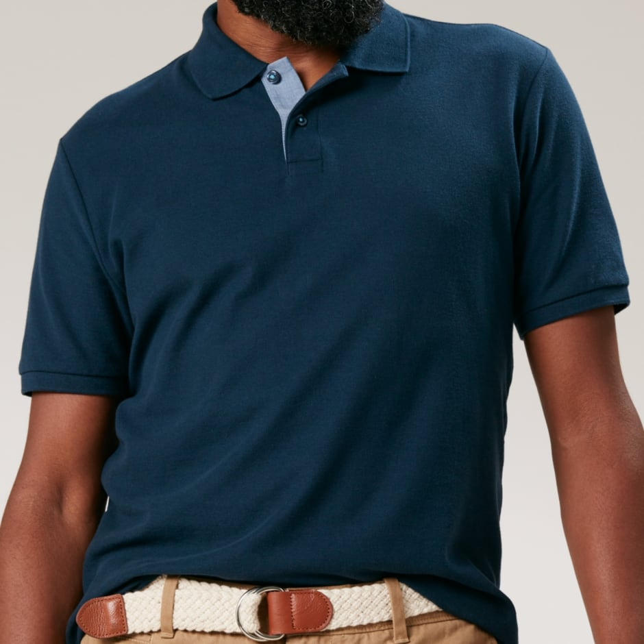 Original penguin navy polo