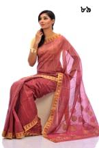 Soft Mixed Cotton Sari