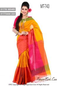 Pure-Cotton-Tangail-Sari-MT-743