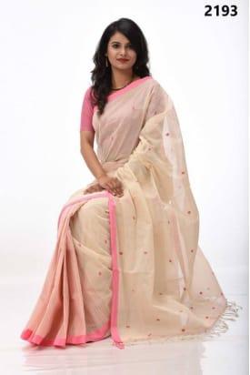 pure Cotton Tangail Saree-TS-2193