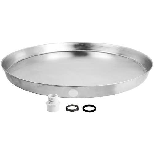 26 Inch Aluminum Water Heater Drain Pan