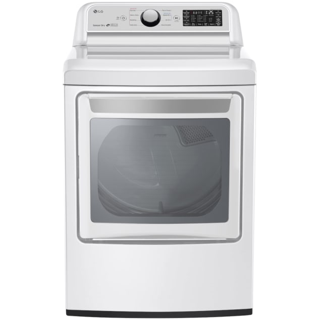 LG 7.3 Cu. Ft. Smart Wi-fi Enabled Electric Dryer w/ Sensor Dry Technology (- DLE7300WE