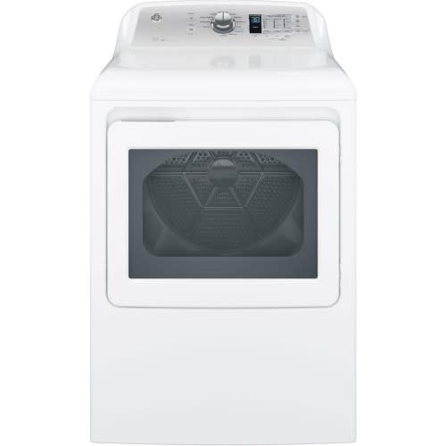GE® 7.4 Cu. Ft. Capacity Aluminized Alloy Drum Gas Dryer w/ HE Sensor Dry - GTD65GBSJWS