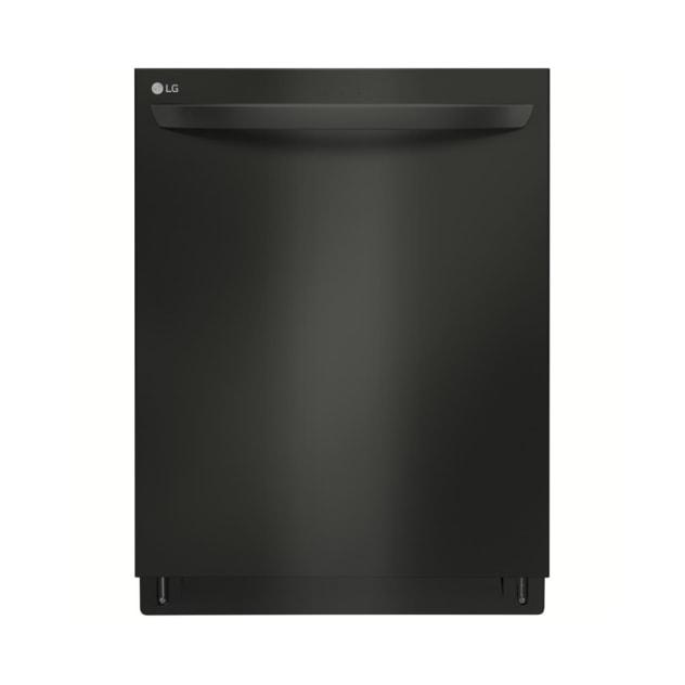 LG Matte Black Stainless Steel Top Control Dishwasher w/ QuadWash™ - LDT7797BM