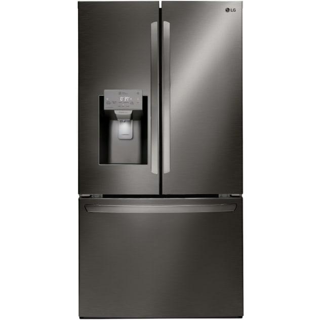 LG 26 Cu. Ft. Smart Wi-fi Enabled French Door Refrigerator - LFXS26973D
