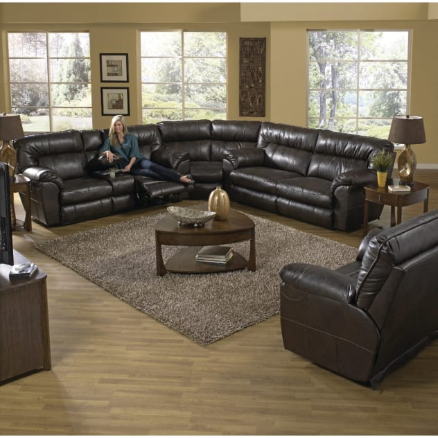 Shown as Collection - Sofa Piece (Left Side) Sold Separately from Wedge and Right Side Loveseat