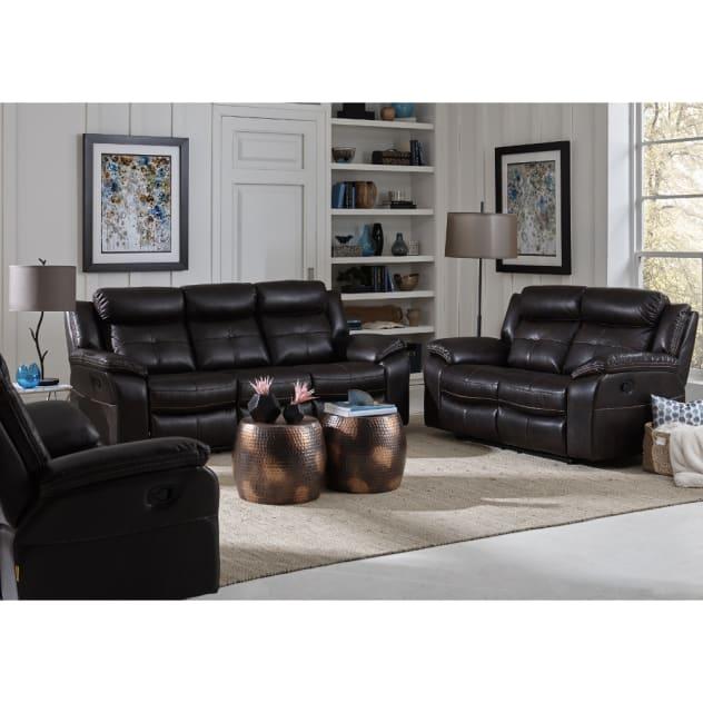 Parker Living Room - Reclining Sofa & Loveseat - XW9222