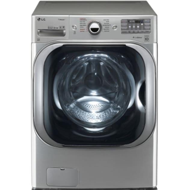 LG 5.2 Cu. Ft. Mega Capacity TurboWash® Washer w/ Steam Technology - WM8100HVA
