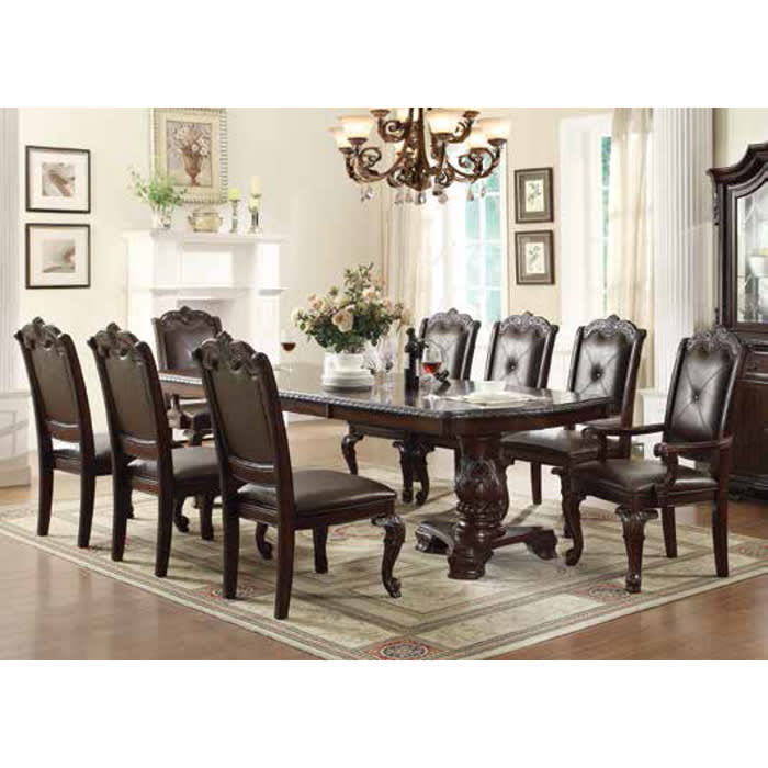 Alexandria Dining - Dining Table & 4 Dining Chairs (2150T)