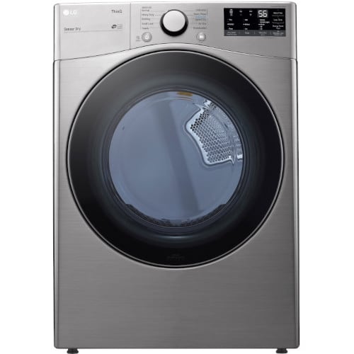LG 7.4 cu. ft. Smart wi-fi Enabled Front Load Electric Dryer with Built-In Intelligence