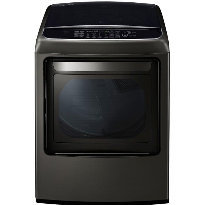 LG 7.3 Cu. Ft. Ultra Large Capacity Front Control Gas Dryer (DLGY1902KE)
