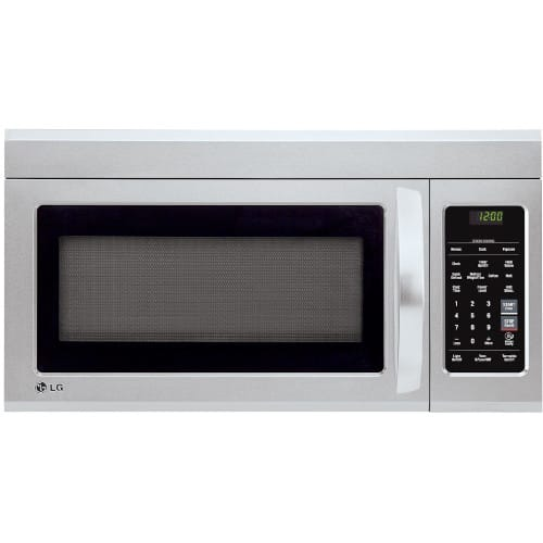 LG 1.8 cu. ft. Over-the-Range Microwave Oven with EasyClean® - LMV1831ST