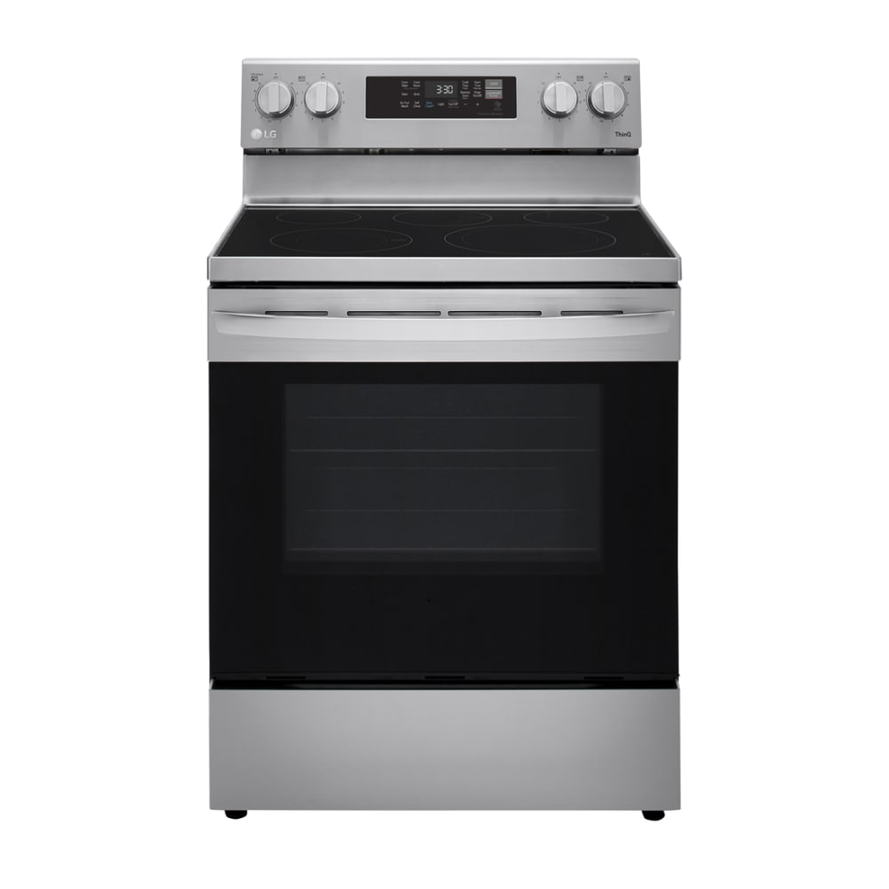 LG 6.3 cu. ft. Electric Single Oven with Air Fry - LREL6323S