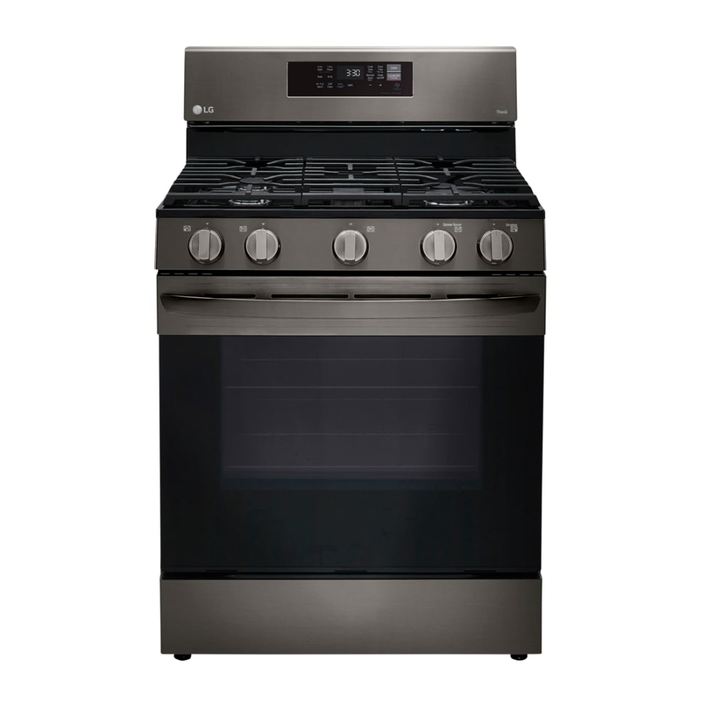 LG 5.8 cu. ft. Gas Single Oven with Air Fry - LRGL5823D