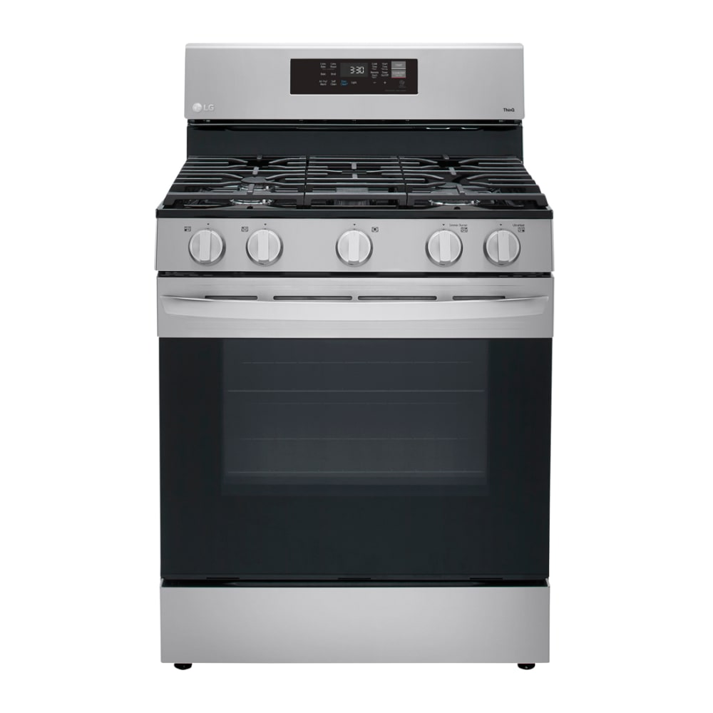 LG 5.8 cu. ft. Gas Single Oven with Air Fry - LRGL5823S