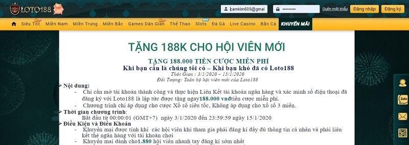 loto188 3 - Loto188 – Link vào Loto188 nhà cái lô đề online chất lượng nhất 2020