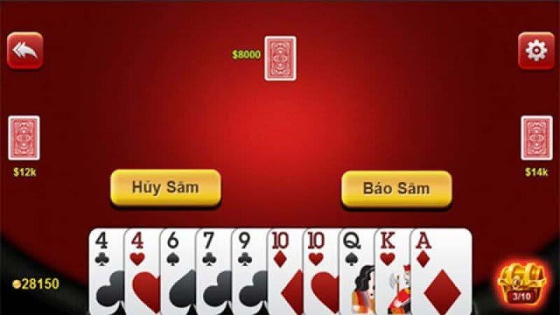 choi sam loc w88 - Luật chơi sâm cơ bản trong đánh Sâm truyền thống