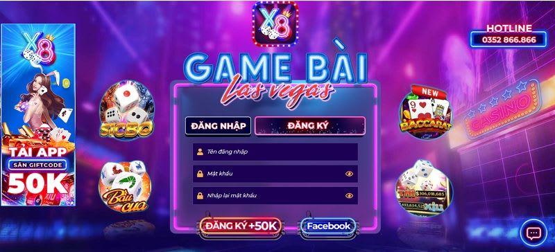 dang ky x8 club - X8 Club – cổng game bài đổi thưởng được game thủ săn đón trong năm 2020