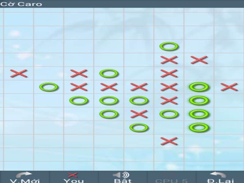 Người chơi thực hiện đánh cờ lần lượt